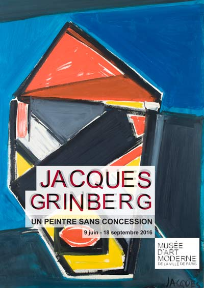 un peintre sans concession musée d'art moderne de la ville de Paris jacques grinberg