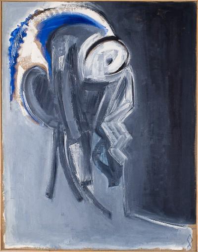 l'homme bleu jacques grinberg