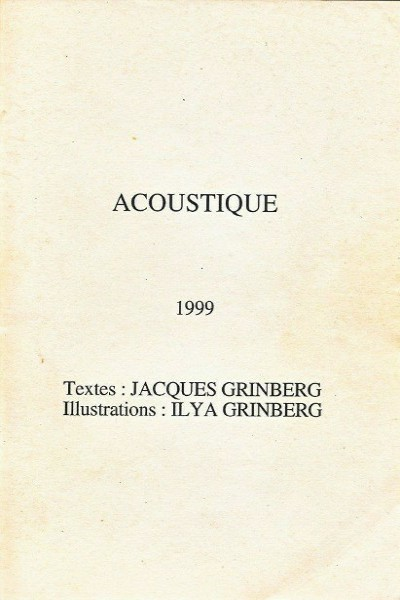 receuil jacques grinberg